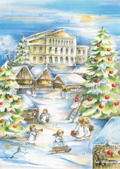 Coburg - Vorweihnachtliches Treiben auf dem Schlossplatz