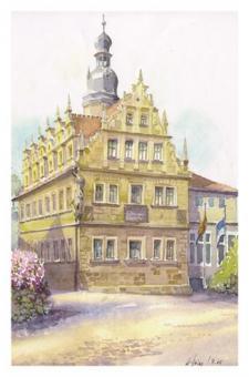 Kunstkarte Coburg - Gymnasium Casimirianum