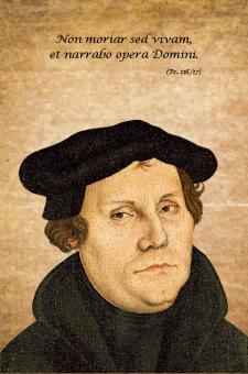 Kunstkarte - Martin Luther