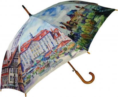Coburger Regenschirm - Stockschirm