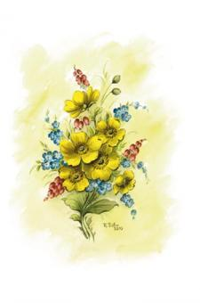 Kunstkarte - Frühlingsbukett