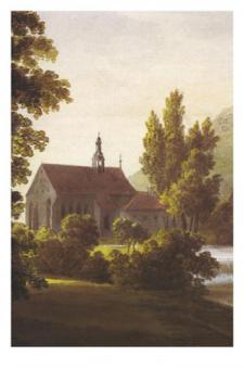 Kunstkarte Coburg - Heilig Kreuz Kirche