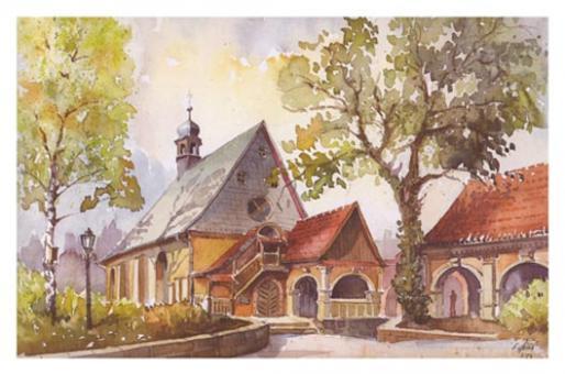 Kunstkarte Coburg - Salvatorkirche