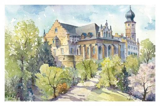 Kunstkarte Coburg - Schloss Callenberg