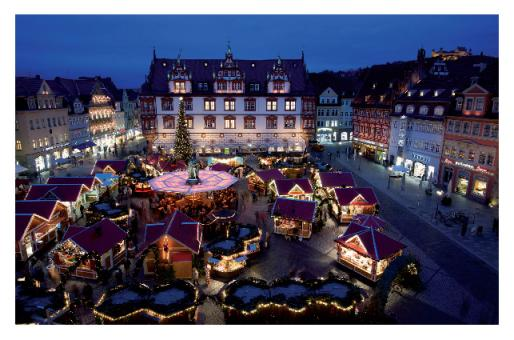 Fotokarte Coburg - Christkindlesmarkt
