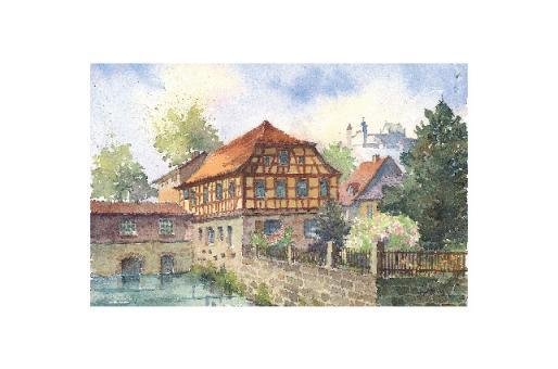 Kunstkarte Coburg - Finkenmühle