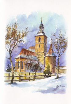 Kunstkarte Bad Rodach - St. Johanniskirche