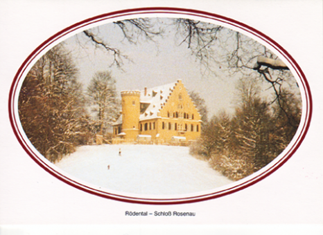 Fotokarte Coburg - Schloss Rosenau