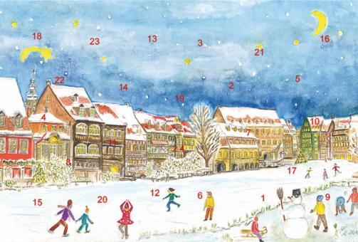 Adventskalender Bamberg - Winterfreuden in Klein-Venedig