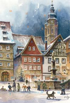 Adventskalender Coburg - Malerwinkel