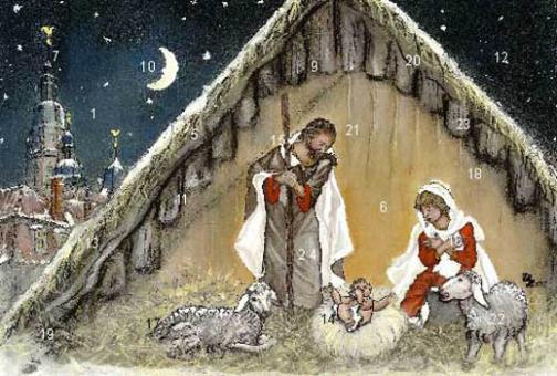 Adventskalender Coburg - Coburger Weihnachtskrippe