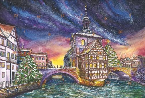 Adventskalender Bamberg - Adventszeit am Alten Rathaus ohne Glitzer