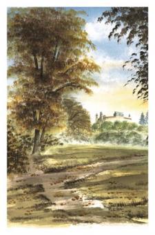 Kunstkarte Coburg - Veste