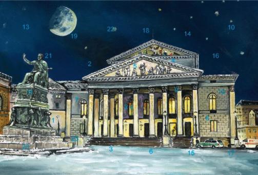 Adventskalender München - Nationaltheater