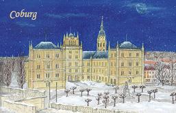 Magnet Coburg - Schloss Ehrenburg Winter