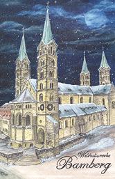 Magnet Bamberg - Dom Weltkulturerbe