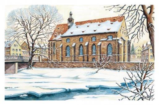 Kunstkarte Coburg - Heiligkreuzkirche