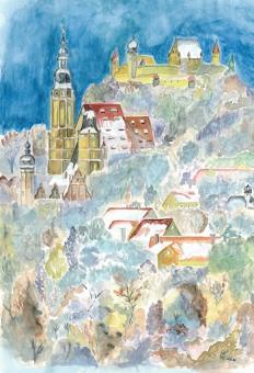 Magnet St. Moriz mit Veste Coburg