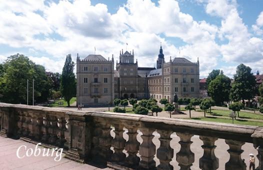 Magnet Coburg - Schloss Ehrenburg im Sommer