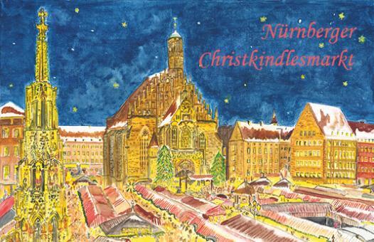Magnet Nürnberg - Christkindlesmarkt mit Frauenkirche