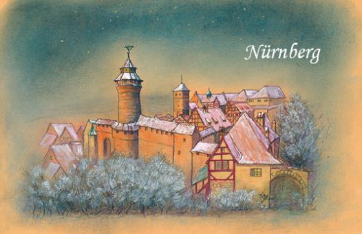 Magnet Nürnberg - Die Kaiserburg im Abendlicht