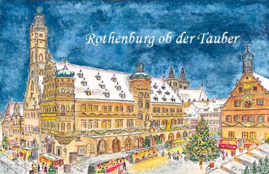 Magnet Rothenburg - Weihnachtliche Stimmung am Reiterlesmarkt