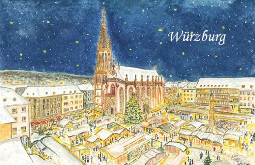 Magnet Würzburg - Frohes Treiben auf dem Weihnachtsmarkt