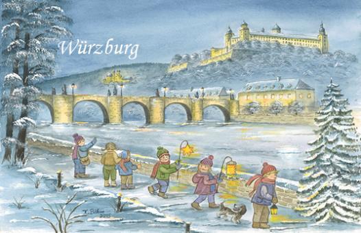Magnet Würzburg - Winterspaziergang am Main