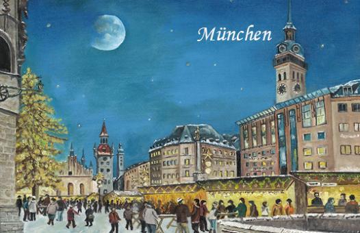 Magnet München - Christkindlmarkt am alten Rathaus