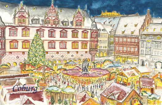 Magnet Coburg - Frohes Treiben auf dem Weihnachtsmarkt
