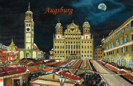 Magnet Augsburg - Weihnachtsmarkt auf dem Rathausplatz