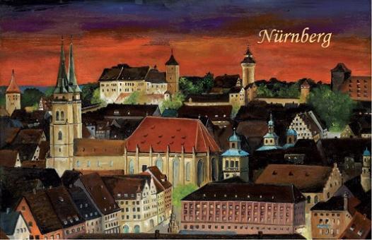 Magnet Nürnberg - Weihnachtsstimmung über der Altstadt