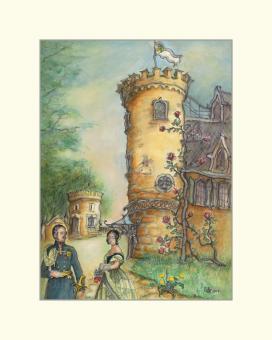 Prinz Albert und Königin Victoria auf Schloss Rosenau