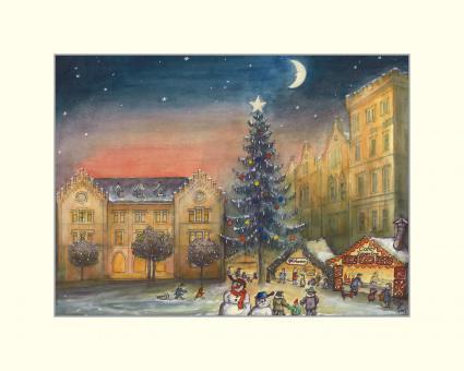 Weihnachtsstimmung am Albertsplatz