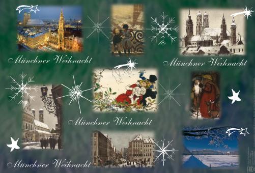 Münchner Weihnachtsgeschenkpapier