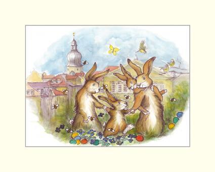 Coburg - Die Osterhasenfamilie