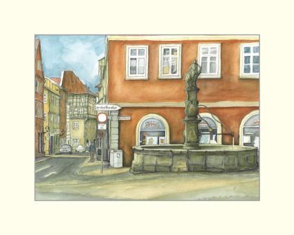 Coburg - Am Rückertbrunnen